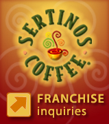 Sertinos Coffee Franchise Opportunities